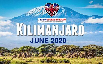 Kilimanjaro June 2020 – The Ultimate Challenge