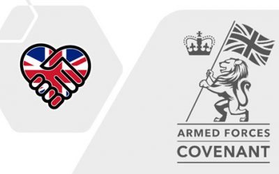 Team Endeavour is proud to sign the Armed  Forces Covenant