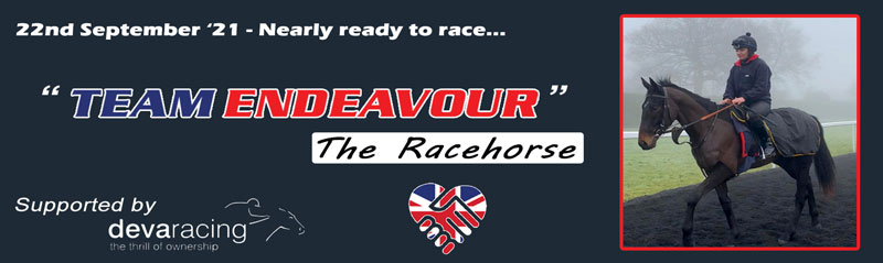 Team Endeavour – Nearly ready to race…